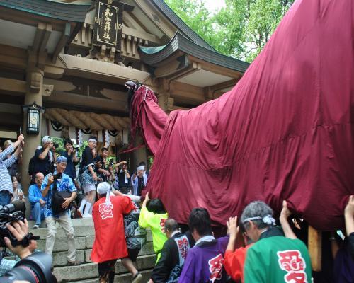 和霊神社へ