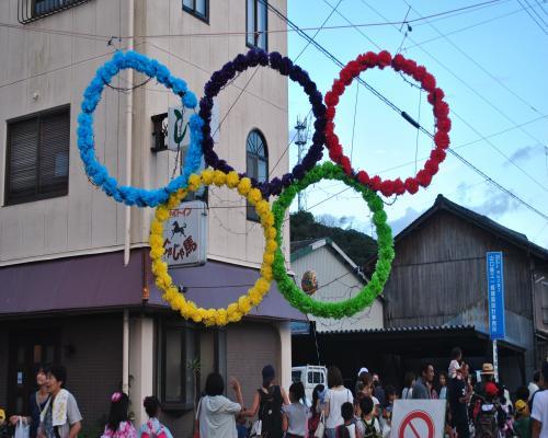 オリンピック飾り