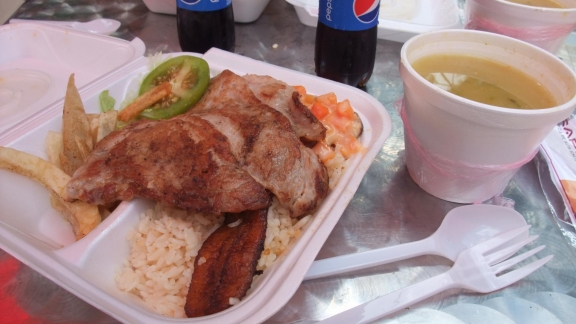 almuerzo take away