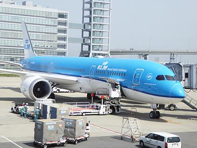 KLMの飛行機