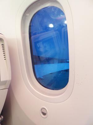 KLMの窓