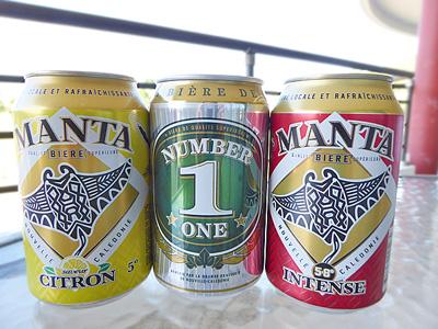 ニューカレドニアのビールたち