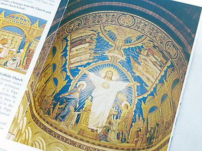 サクレ・クール寺院の祭壇画
