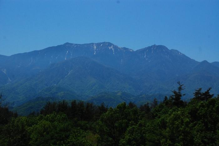 高根町からの鳳凰三山8