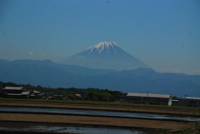 韮崎からの富士山(助手席から)42