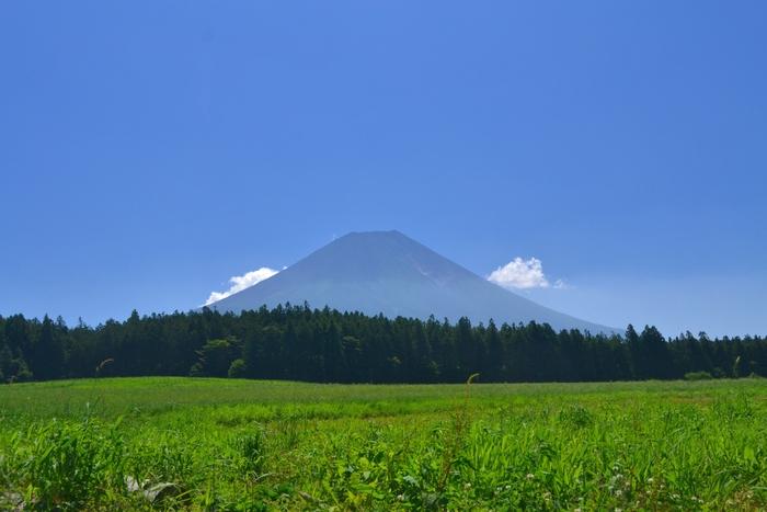 朝霧高原からの富士山8