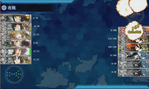 E-4ラスト撃破