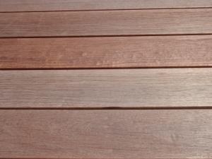 ウリン材(自然木)を利用したウッドデッキ :エクステリア横浜(神奈川県・東京都の外構工事専門店)