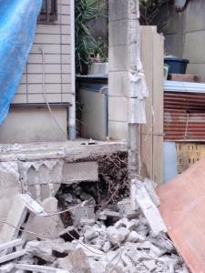 危険ブロック塀解体撤去・改修工事 :エクステリア横浜(神奈川県・東京都の外構工事専門店)