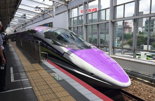 エヴァ新幹線①