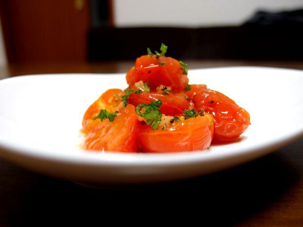 ミニトマトのアーリオオーリオ