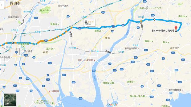 MAP(日本一のだがし売り場)