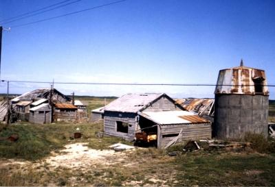 80年代の幌延町浜里地区
