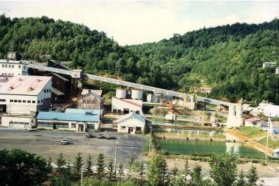 1980年代の下川鉱山