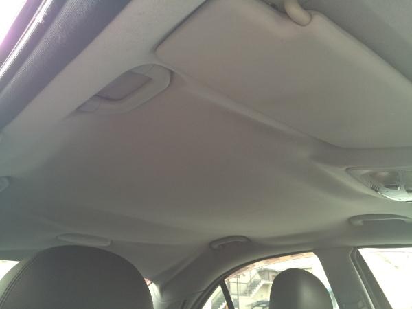 天井張替え ベンツ C32 AMG