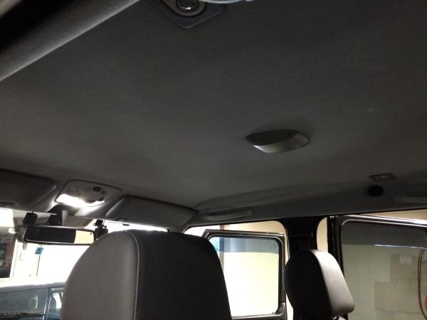 天井張替え ベンツ G320