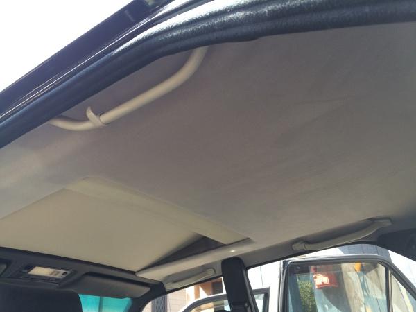 天井張替え ベンツ E500 (W124)