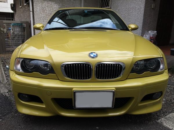 ドアグリップ 塗装劣化補修 BMW M3 (E46)