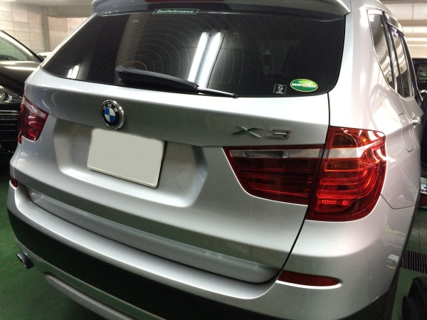 レザーシート 表皮剥がれ補修 BMW X3