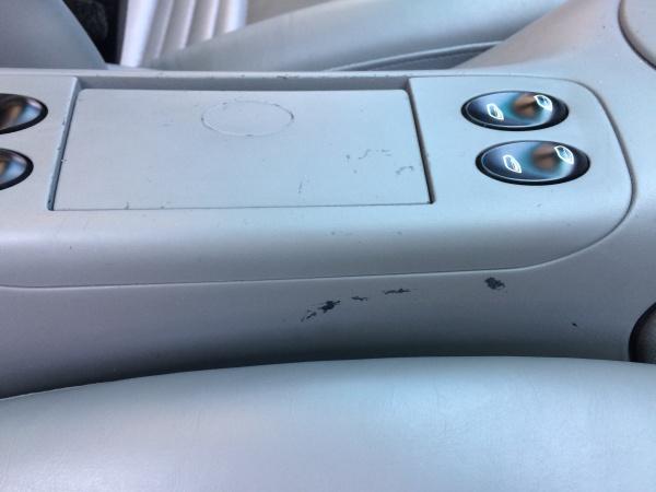 センターコンソール 傷補修 ポルシェ996