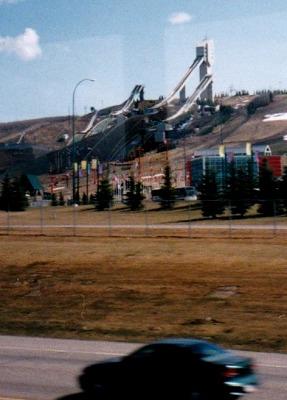 960505カナダ-5五輪ジャンプ台
