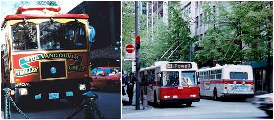 960507バンクーバーダウンタウントロリーバス