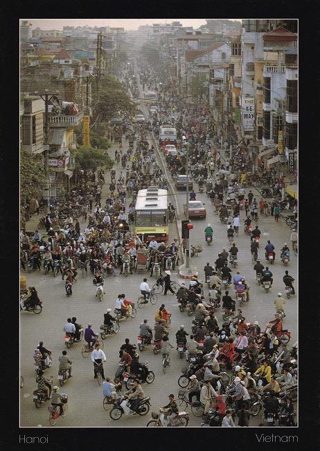 ベトナムからの絵葉書