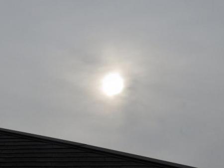 今朝の太陽 001