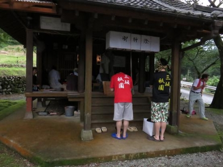 三坂こっぱげ面祭り 094