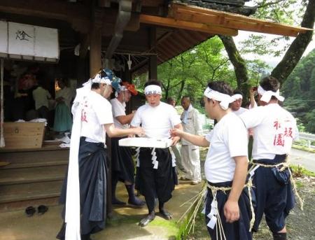 三坂こっぱげ面祭り 140