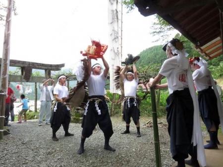 三坂こっぱげ面祭り 166