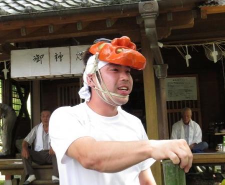 三坂こっぱげ面祭り 136