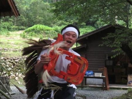 三坂こっぱげ面祭り 160