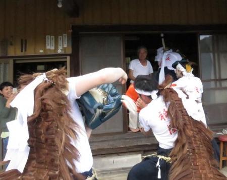 三坂こっぱげ面祭り 242
