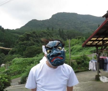 三坂こっぱげ面祭り 264
