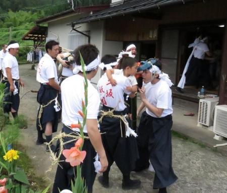 三坂こっぱげ面祭り 273