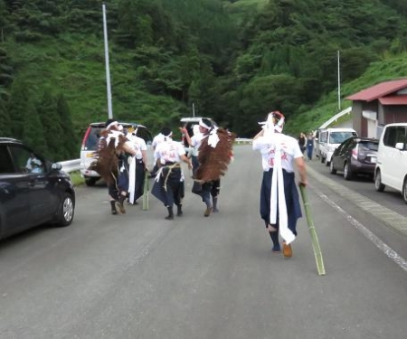 三坂こっぱげ面祭り 277