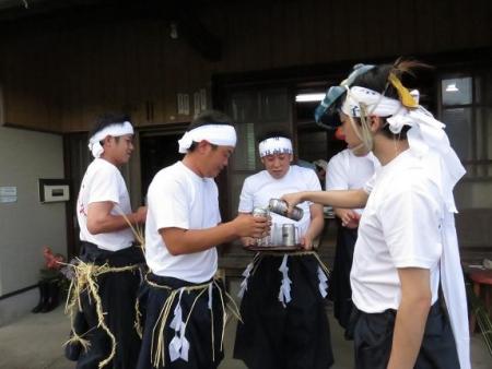 三坂こっぱげ面祭り 254