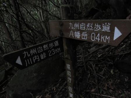 キツネ八幡岳 072