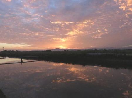 朝焼け雲 002