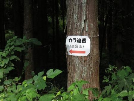 カラ迫岳 003