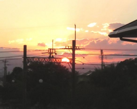 朝の太陽 028