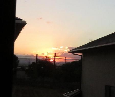 朝の太陽 026
