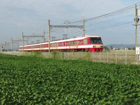 西鉄電車夕陽 008