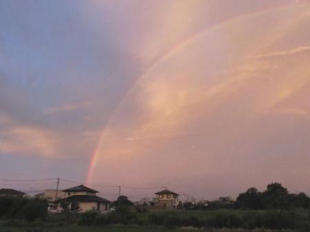 朝の虹 007