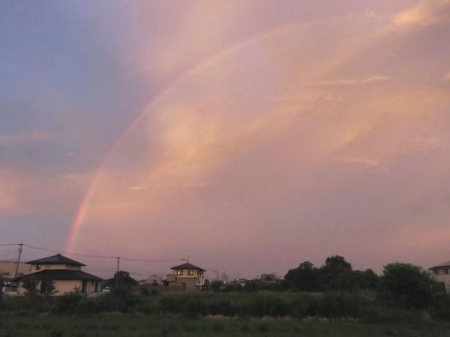 朝の虹 004