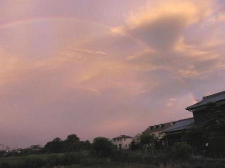 朝の虹 005