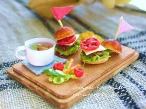 ハンバーガープレート4