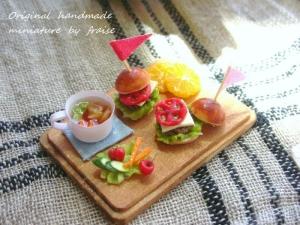 ハンバーガープレート3