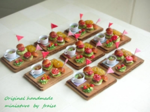 ハンバーガープレート6
